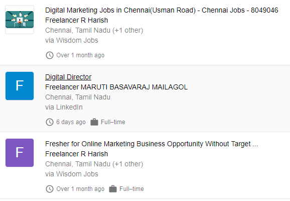 digital marketing freelancing jobs